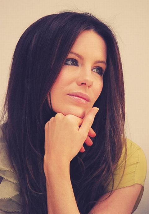 Kate Beckinsale...like the dark for fall and winter