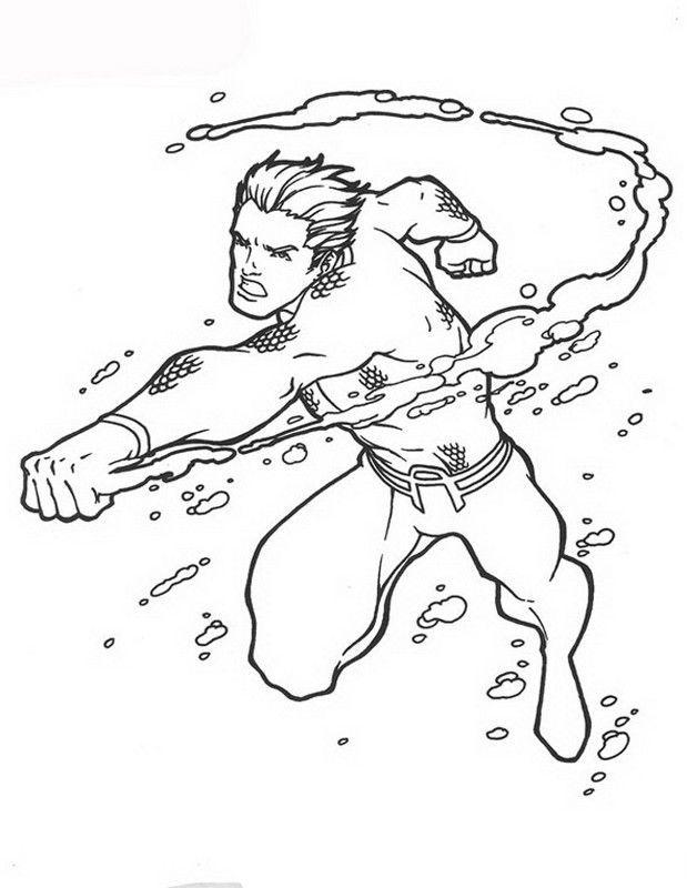 18 best Aquaman Coloring Pages images on Pinterest   Aquaman ...