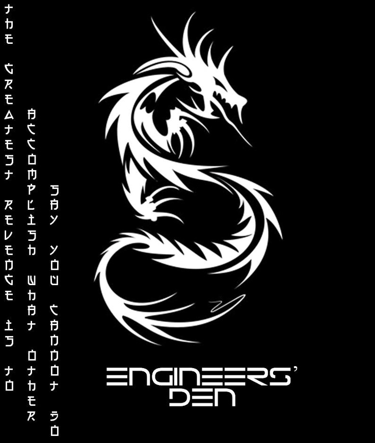 The Engineer's Den Poster
