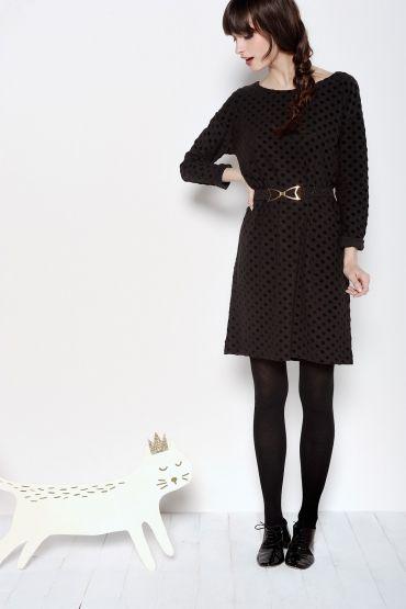 Raffy Dark Dress