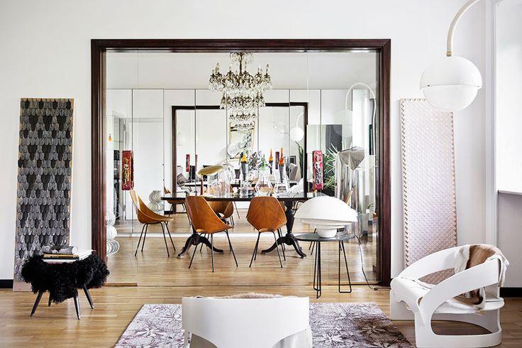 Unique and dreamy designer home in Milan