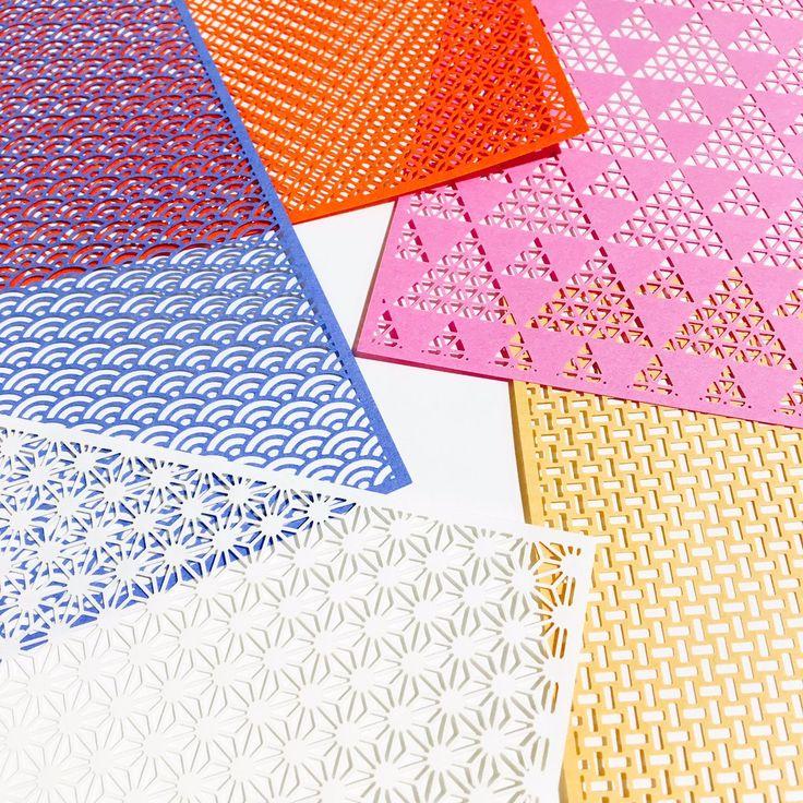 【新宿店】レーザー加工技術を駆使して作られた、信じられないほど美しく繊細な折り紙『千代切紙』が入荷し…
