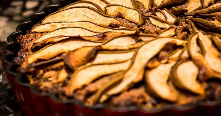 Cuisine-à-Vous: Havermoutcake met gember, noten en banaan
