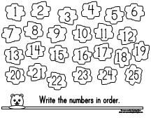 Printable Number Tracer Worksheet for Groundhog Day from Making Learning Fun