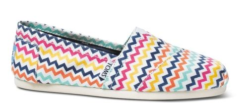 Bright  Zig  Zag  Jonathan  Adler  for  TOMS  Women's  Classics from TOMS on shop.CatalogSpree.com, your personal digital mall.