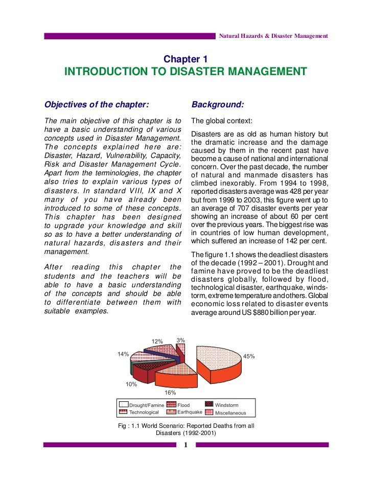 Essays About Disaster Management - Experts' opinions | Baseball ...