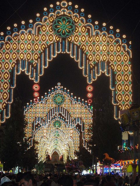 Feria  Andalucia  Spain - Very plainly spoken, how extremely extraordinary, bright, exceptional, and illustrious these lights are.  Breathtaking !!!!!