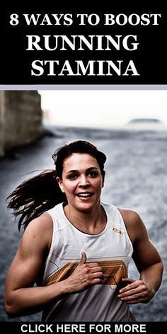 Runners looking to increase stamina & endurance, here are 8 ways. CLICK ON…