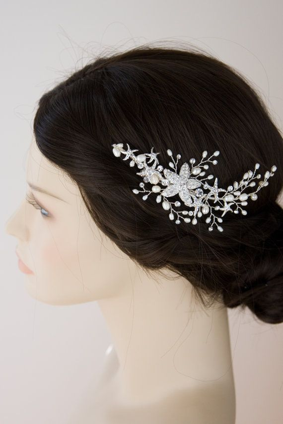 find this pin and more on beach wedding hair accessories