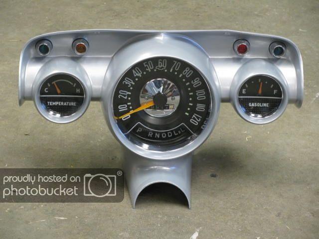 Tech Gauges For 57 Ls Swap Trifive Com 1955 Chevy 1956 Chevy