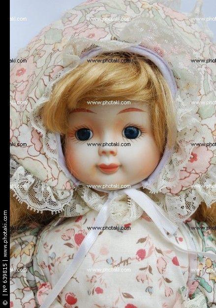 Cute porcelain retro doll http://www.photaki.com/picture-portrait-of-a-porcelain-doll-retro_639815.htm