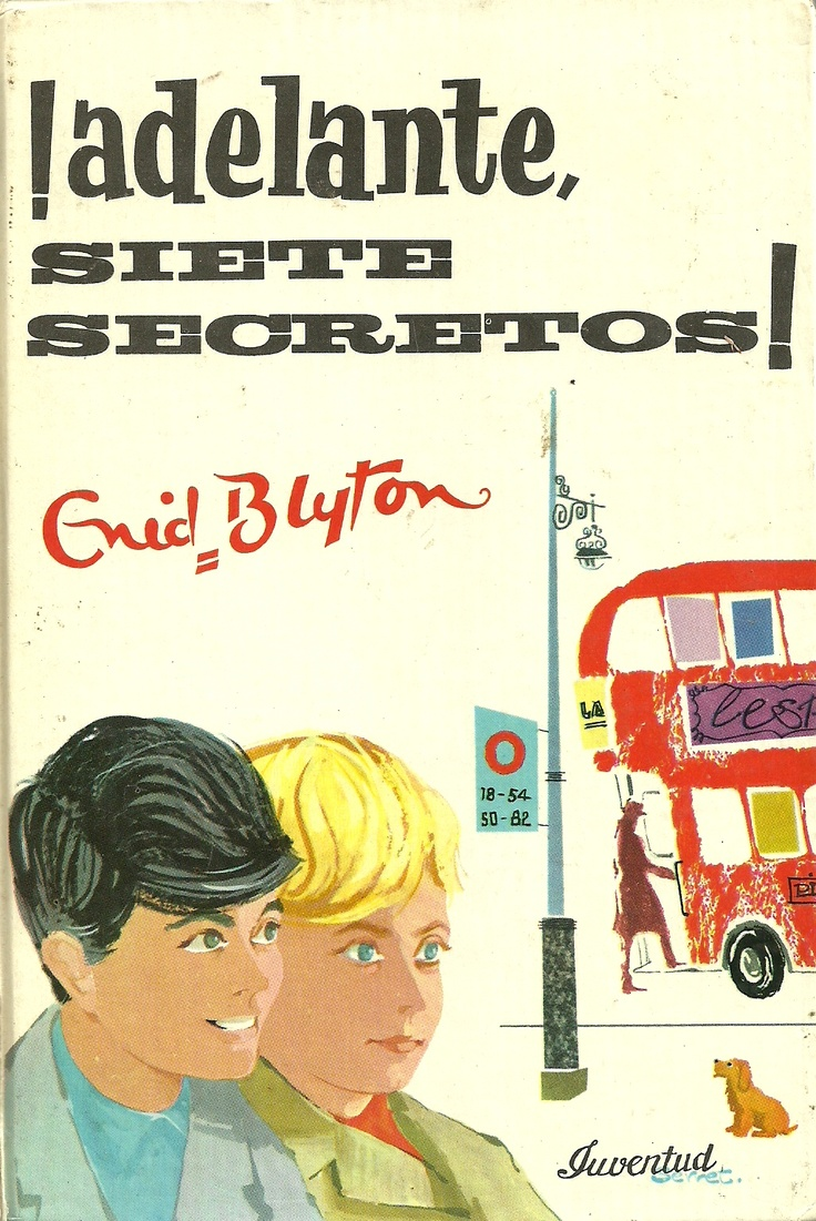 Los siete secretos (The Seven Secrets, 1949-1963) - Enid Blyton - Inglaterra