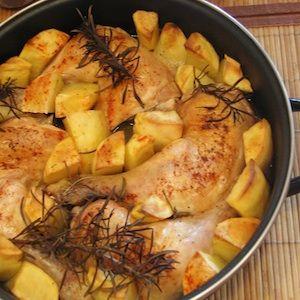 Receta Muslo de Pollo al Horno | Kocinarte.com
