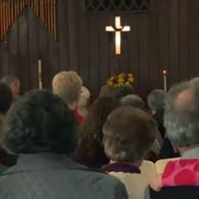 Ruffin United Methodist Church opened its doors to members of Mt. Carmel on Sunday.