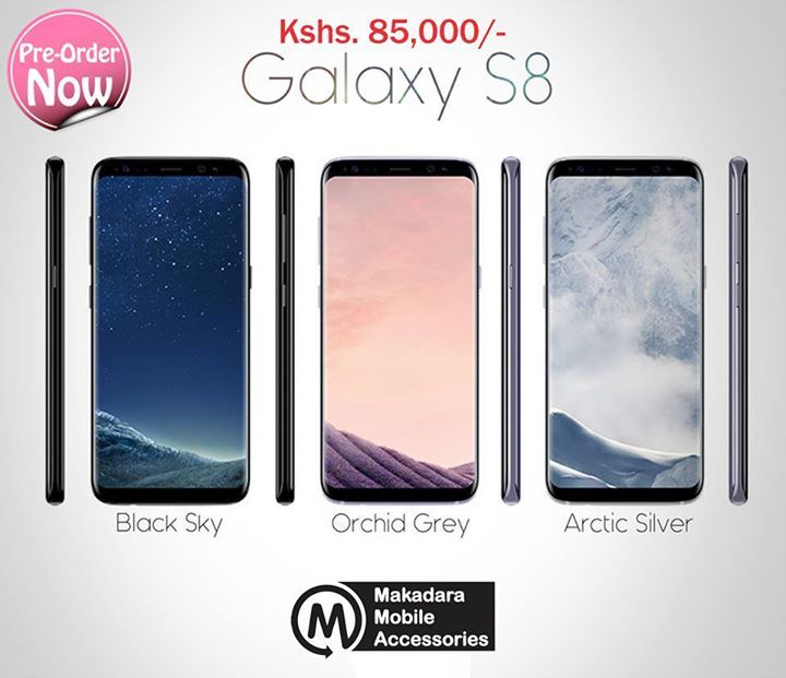 SAMSUNG GALAXY S8 PRE-ORDER  Price: Kshs. 85,000/- (Includes free Level Box Slim worth Kes. 12,999/- & Carbon Fiber Back case worth 1000/- when you Pre-Order)  #s8 #s8plus #mma #samsungmsa #samsung #samsungs8 #mombasa #kenya #phones #samsungmombasa #Samsungkenya