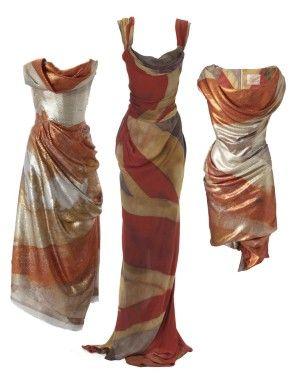 Vivienne Westwood Dresses Emblazoned With The Vintage
