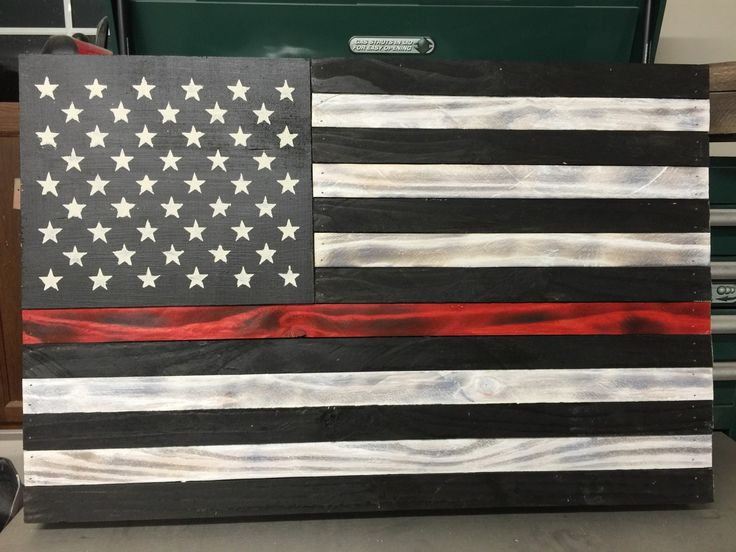 Thin Red Line Small Flag Very few bonds are as strong as the one shared among firefighters, and now you can show your support for those who dedicate their lives to preserving the lives of others. A be