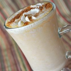 """Famous No Coffee Pumpkin Latte   """"This is a warm and creamy rich pumpkin drink that taste like a Starbucks® pumpkin Latte but with NO caffeine so it is very kid friendly or great at the mid day office Holiday party."""""""