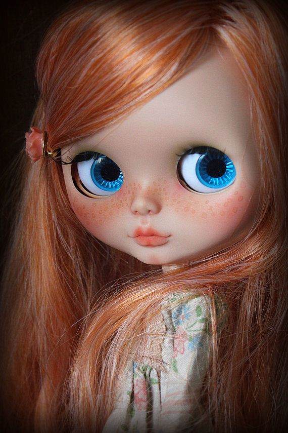 RESERVED Honey-Rose. A ooak custom Blythe doll by por BlytheForMe