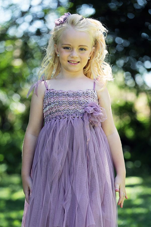 Crochet Tutu Flowergirl Dress for girls. Handmade, unique and perfect for special occasions. Moments with Mom Clothing South Africa