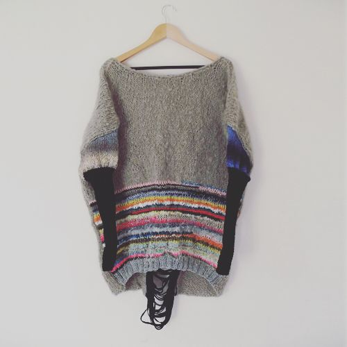 Big silhouette wool top #mokely #wool #bigsilhouette
