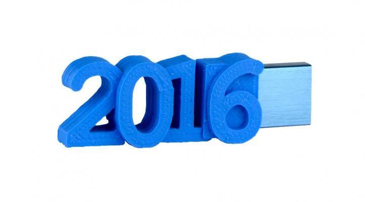 2016 flash drive, Happy new Year!