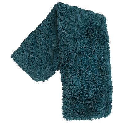 Shaggy Sherpa Throw - Spruce  – For Clare