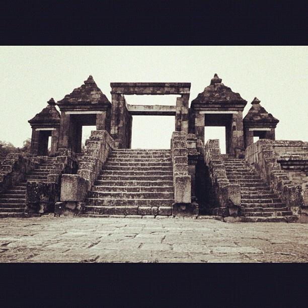 Ratu Boko Temple ruins, Yogyakarta - Indonesia