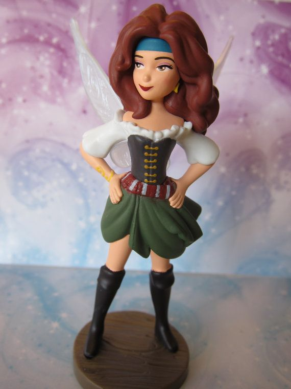 Hey, I found this really awesome Etsy listing at https://www.etsy.com/listing/180571618/zarina-pirate-fairy-cake-topper