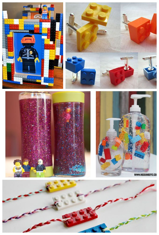 196 best father 39 s day ideas for kids images on pinterest for Diy lego crafts
