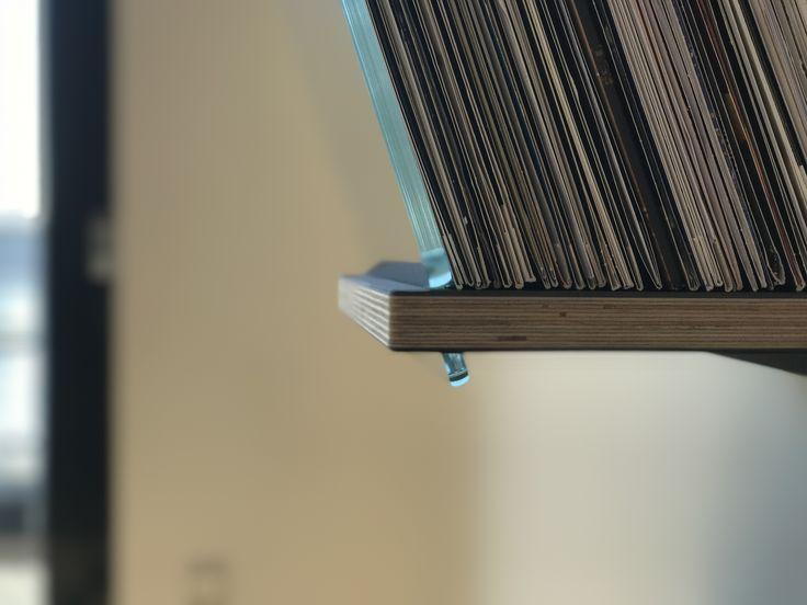 Plywood and black linolium on DISPLAYY