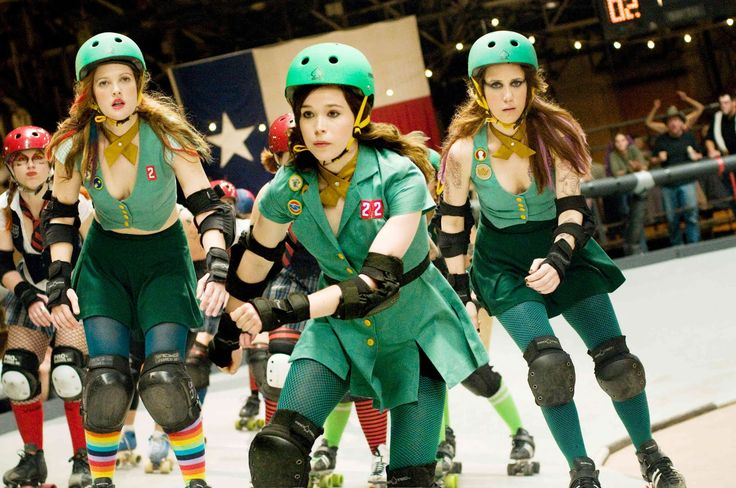 Whip It - A Drew Barrymore movie from 2009 starring Ellen Page, Drew Barrymore and Juliette Lewis