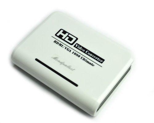 Mondpalast @ HDMI ver VGA Convertisseur – signal numérique HDMI vers le signal analogique VGA/audio