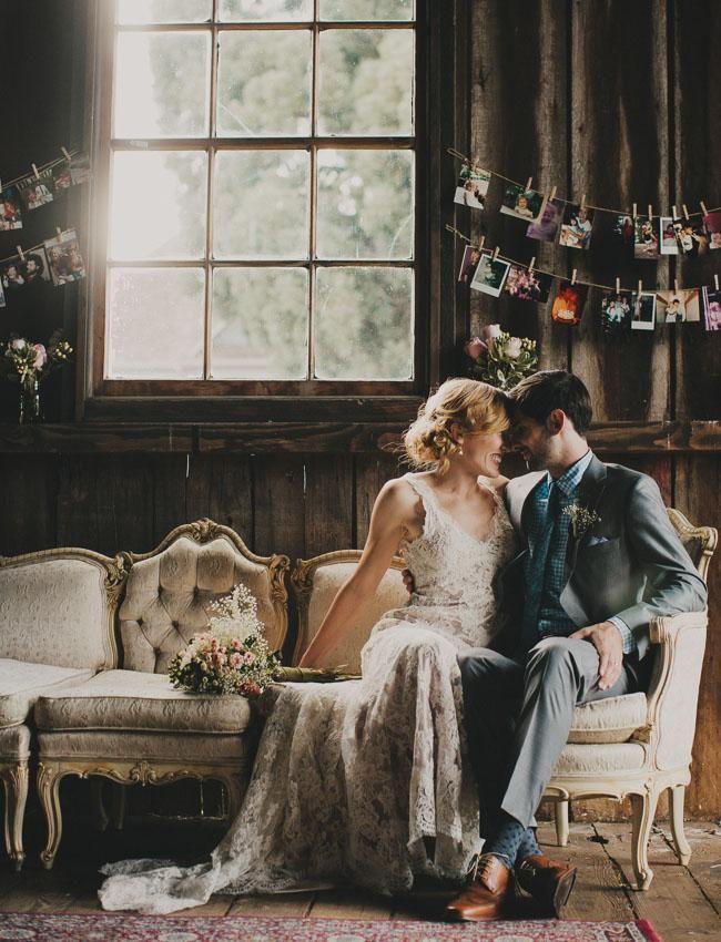 inspiration | bride and groom portrait session | via: green wedding shoes