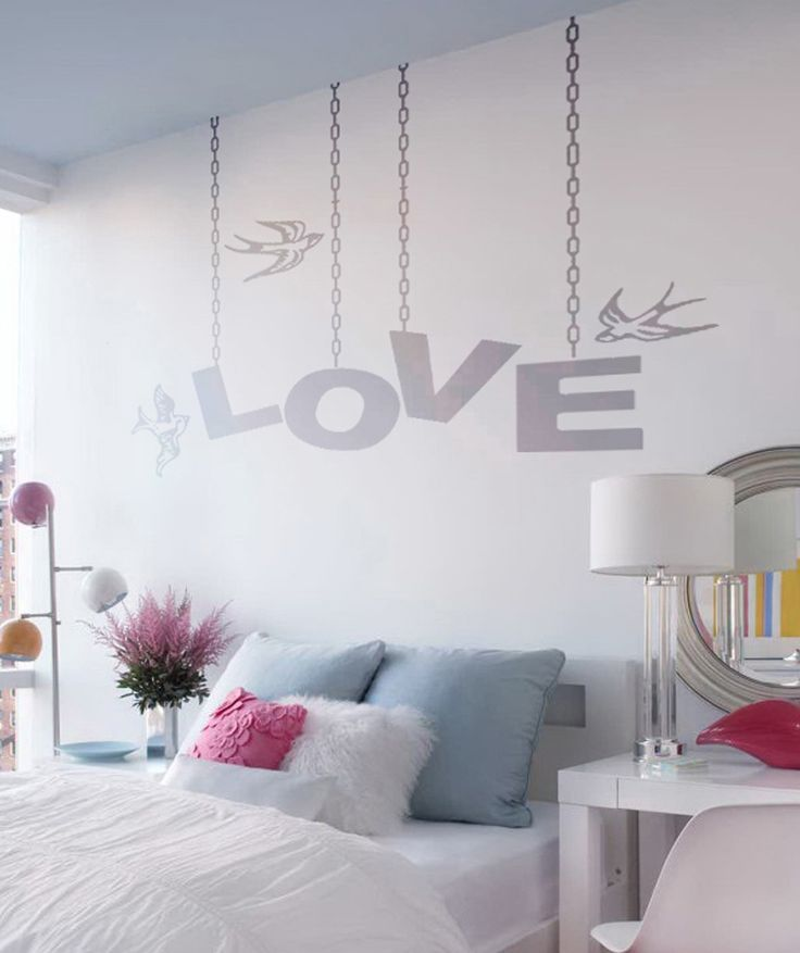 M s de 1000 ideas sobre murales adolescentes en pinterest for Vinilos pared dormitorio matrimonio