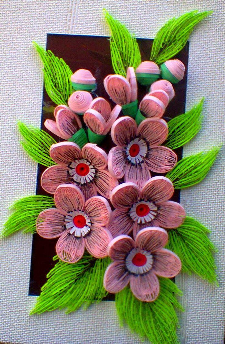 Квиллинг Floral Design - Quilled by: Svetlana Bystrova