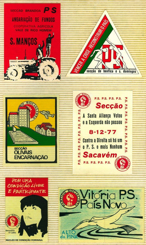 1503 - Partido Socialista - diversos (1974-1985)