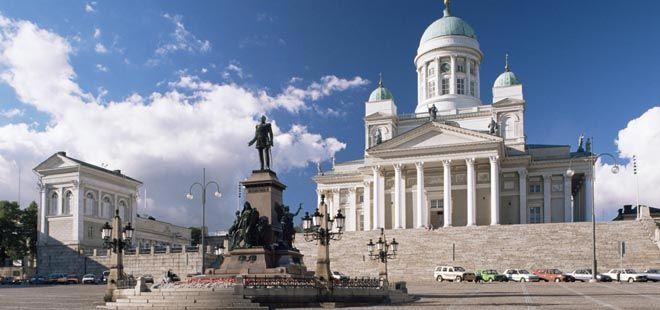 Senate Square Finland   Travel Finland