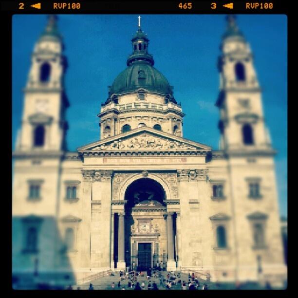 Budapest, Szent István bazilika #Budapest #Hungary #Magyarország #city #travel #church