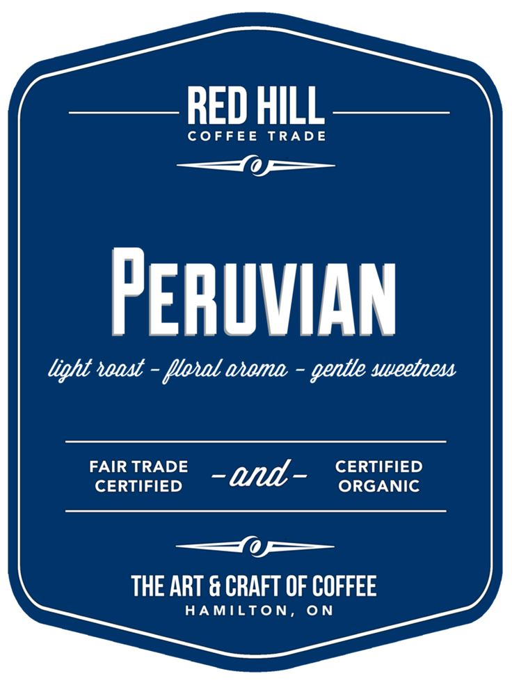Peruvian: A high-altitude coffee with a bright effervescent snap, a gentle sweetness, and a medium body. Available to purchase online or in-store at E23 (our cafe on Concession St.) or at the Hamilton Farmer's Market.