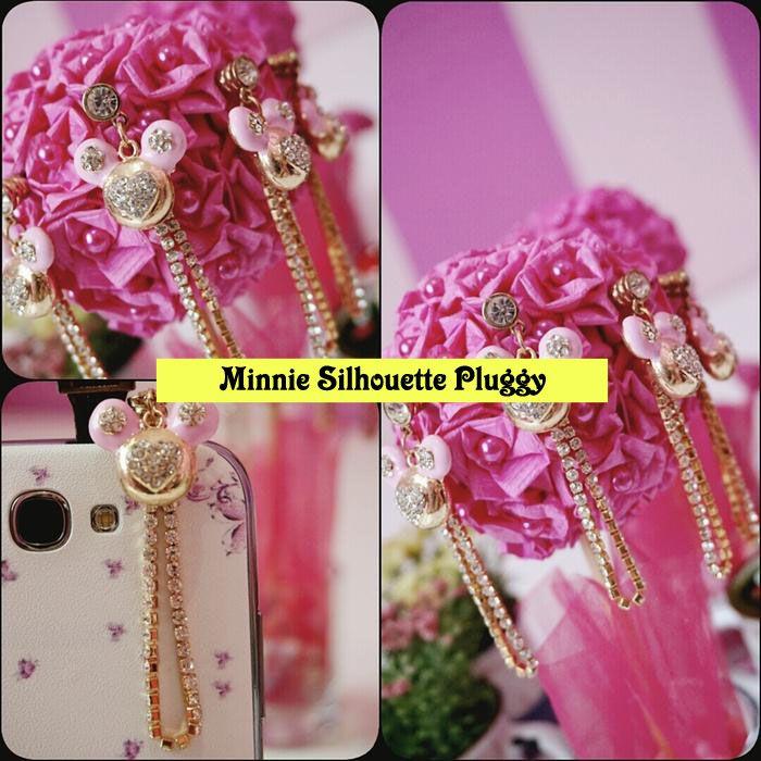Kode : AWS-182, Nama : Minnie Mouse Long Chain Jewelry Pluggy, Price : IDR 55