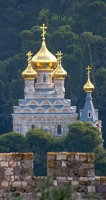 Russian orthodox convent of St Magdalene. One of the most magical places