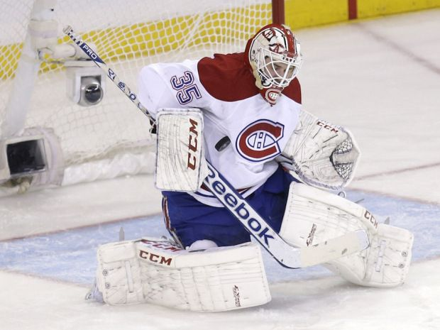 On Thursday night, Tokarski stopped 35 of 37 shots to help the Canadiens to a 3-2 win in overtime at Madison Square Garden to stop the Rangers; hopefully he will help them win the playoffs!