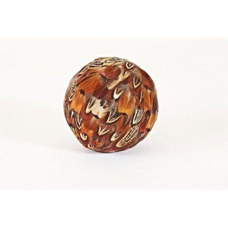 Cock Pheasant feather Decorative Ball - £15