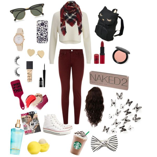 Izzy❤️ by natashagatzke on Polyvore featuring polyvore, fashion, style, 2nd Day, dVb Victoria Beckham, Converse, Kate Spade, Ray-Ban, Eugenia Kim, Urban Decay, Stila, Rimmel, NARS Cosmetics, Hourglass Cosmetics, Lord & Berry, Eos, WigYouUp and Umbra