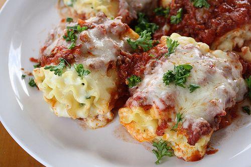 Lasagna Roll-Ups..