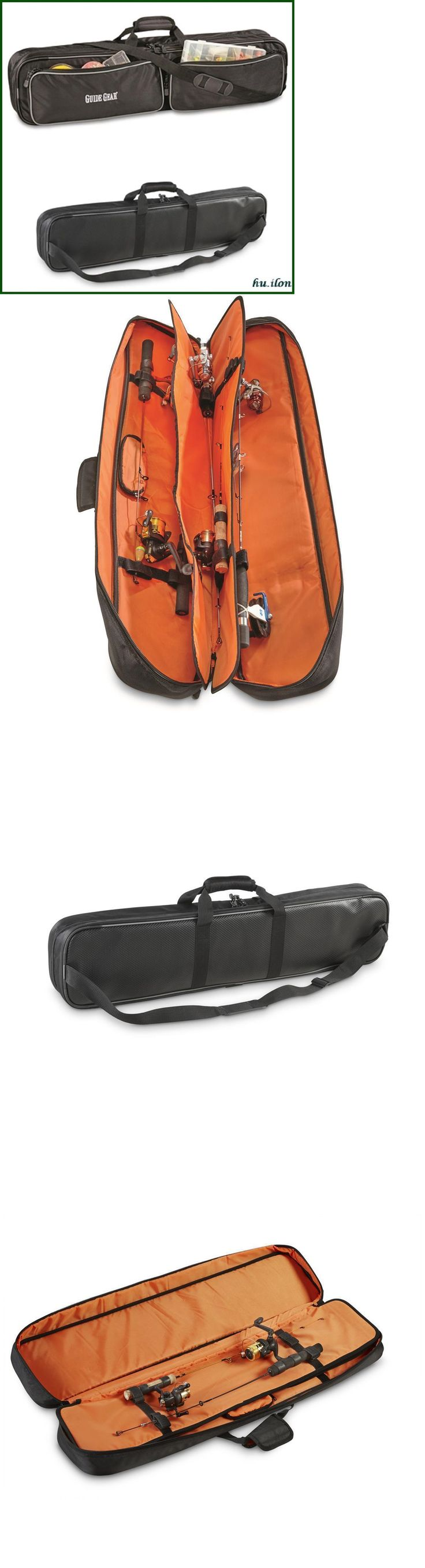 Rod Cases Tubes and Racks 81473: Guide Gear Ice Fishing Rod Case, 6-Rod And Reel Combos Convenient Way To Store -> BUY IT NOW ONLY: $54.99 on eBay!