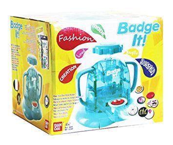 Bandai - 33303 - Kit De Loisirs Créatifs - Maxi Pack Badge It! + Recharge - 45 Badges