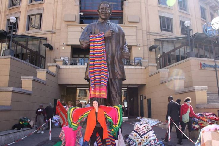 67 blankets for Mandela Day.