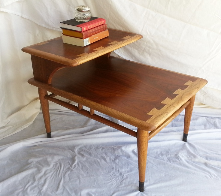 "Vintage Mid Century Lane Two Tier , ""Acclaim Series"